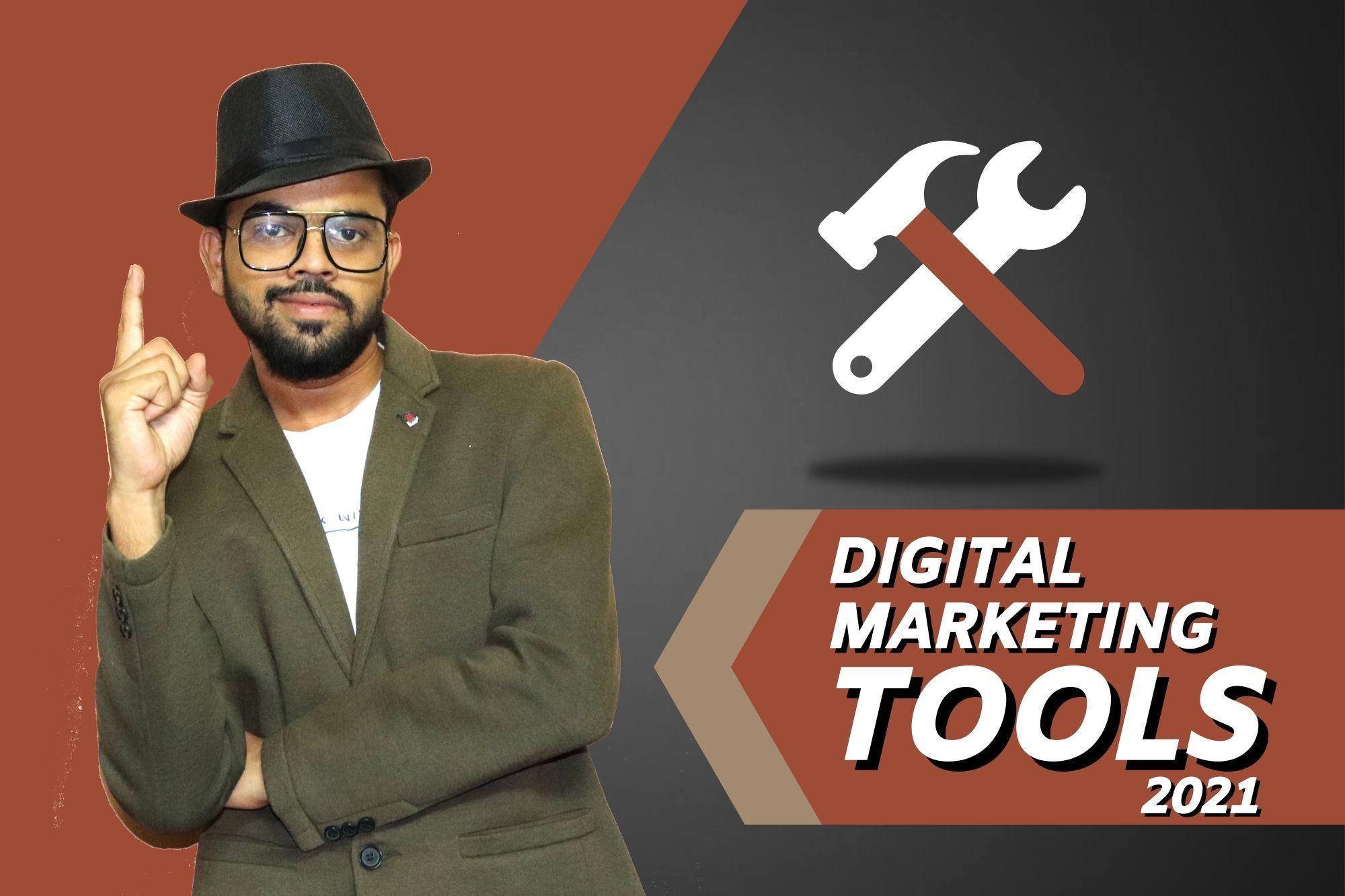 Digital Marketing Tools In Hindi 2021 | Digital TK
